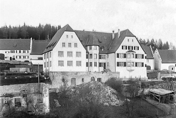 Blick auf das Haus Benitz in der Alenbergstraße, ca. 1925-1930