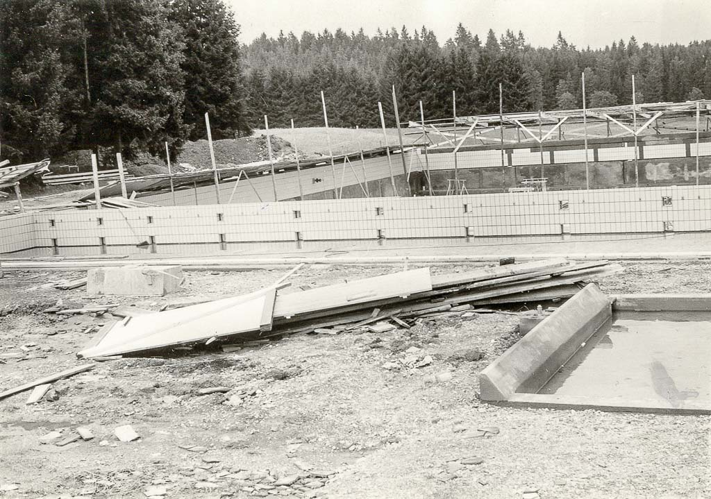 Waldbad, Neubau, 1960?