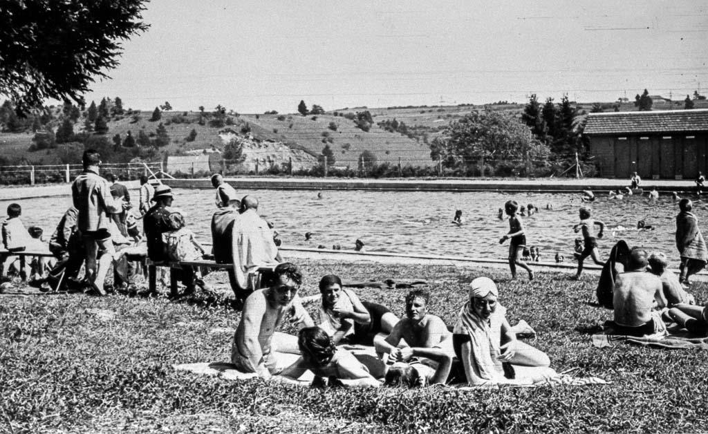 Waldbad, Badebetrieb, nach 1935