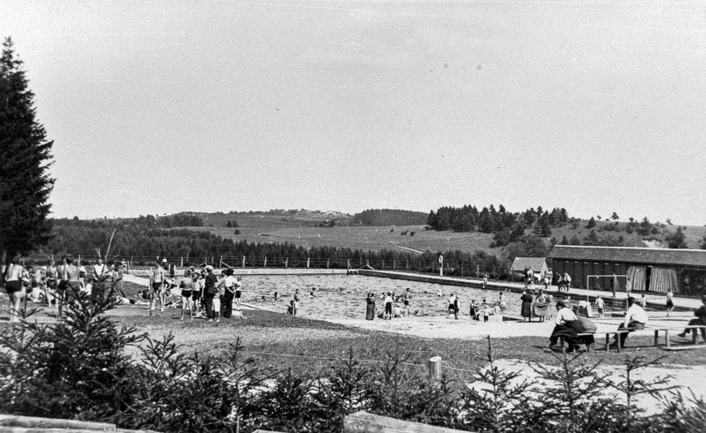 Waldbad, nach 1935