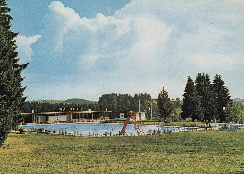 Waldbad, ca. 1970-1980