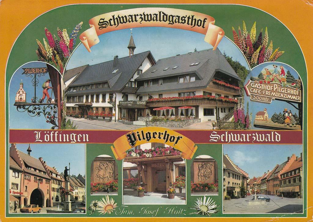 Ansichtskarte vom »Pilgerhof« in der Maienlandstraße, ca. 1982