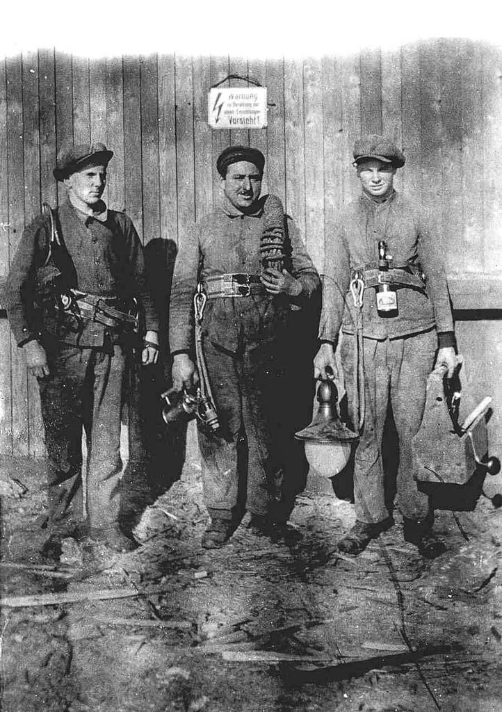 Elektriker des Sägewerk Benz, ca. 1925-1930