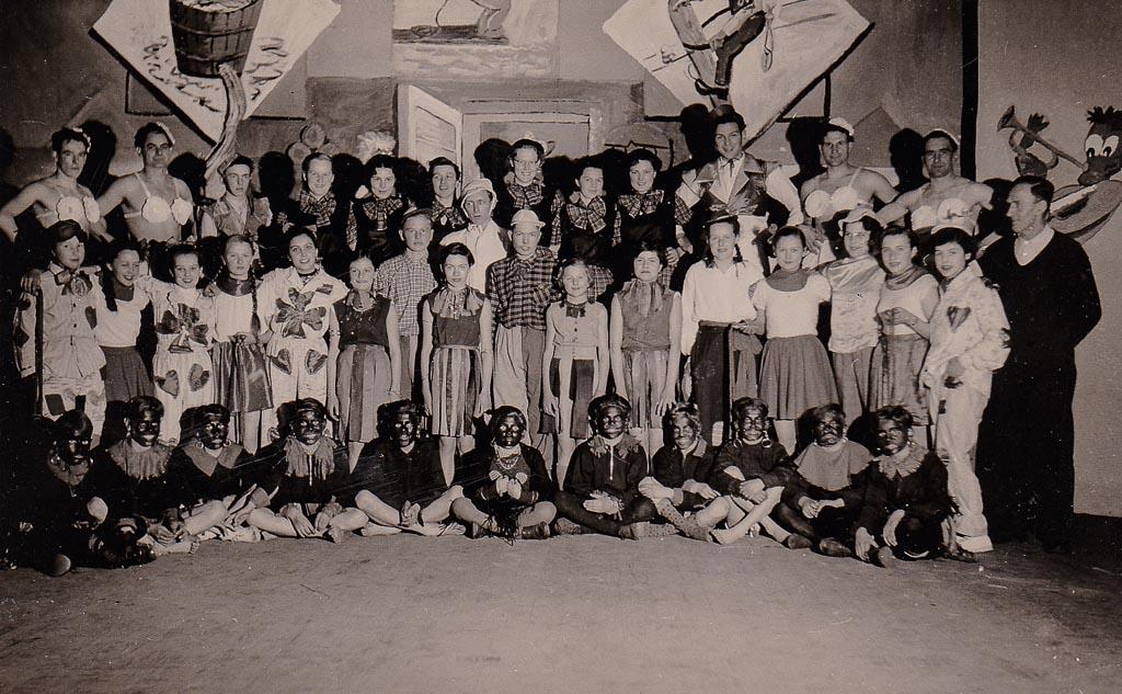 »Bunter Abend« des Turnerbunds, Fasnacht 1954