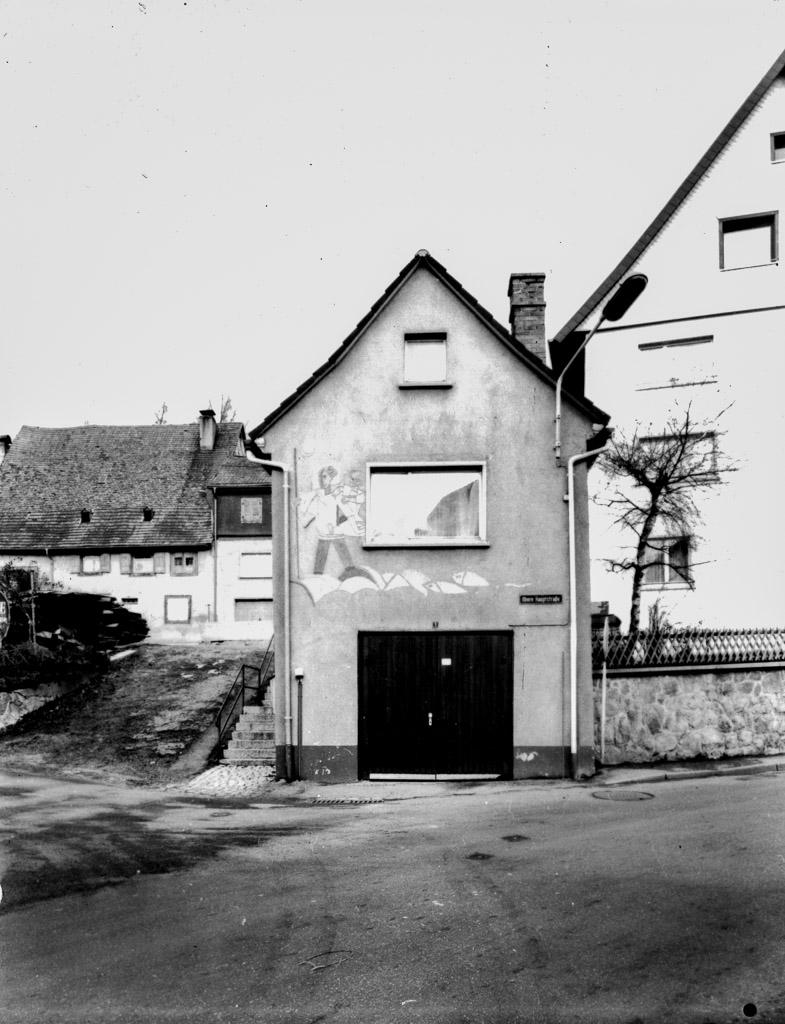 Eichhäusle in der Oberen Hauptstraße, ca. 1976