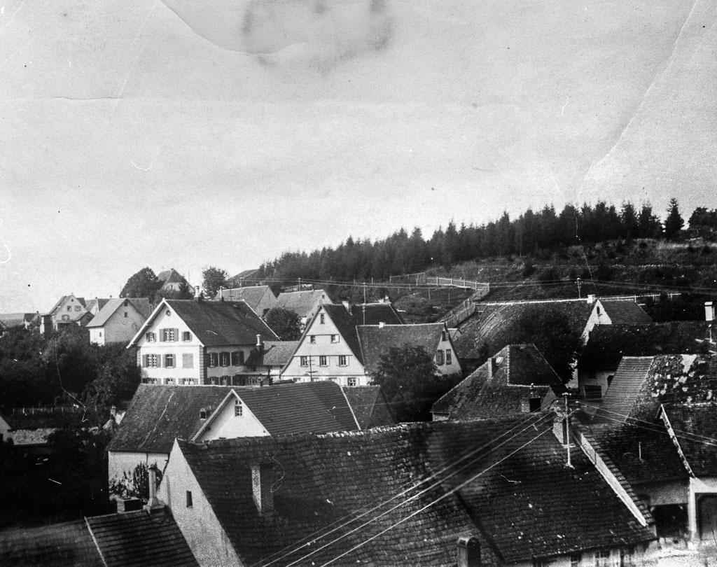 Blick vom Rathausturm zum Alenberg, ca. 1914-1921