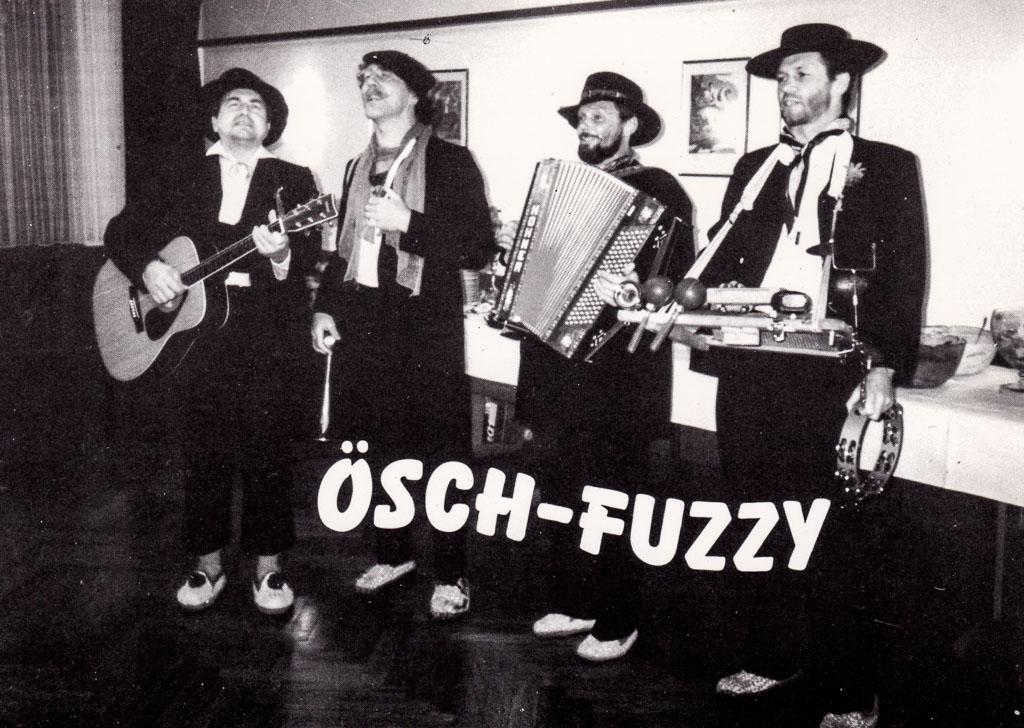Auftritt der »Ösch-Fuzzy«, ca. 1985