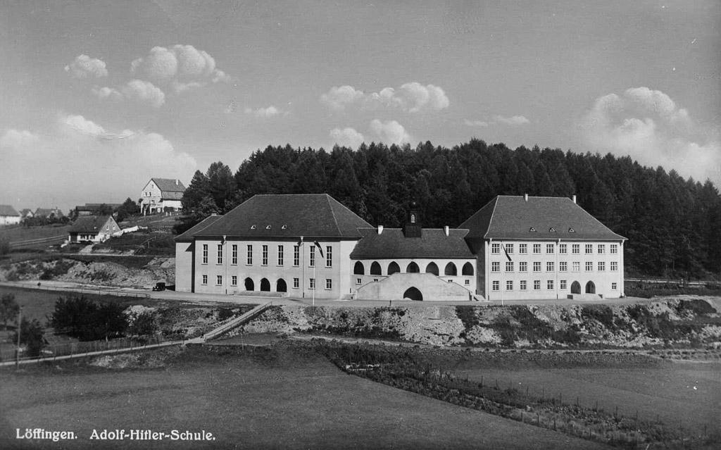 »Adolf-Hitler-Schule« an der Hasle, ca. 1936