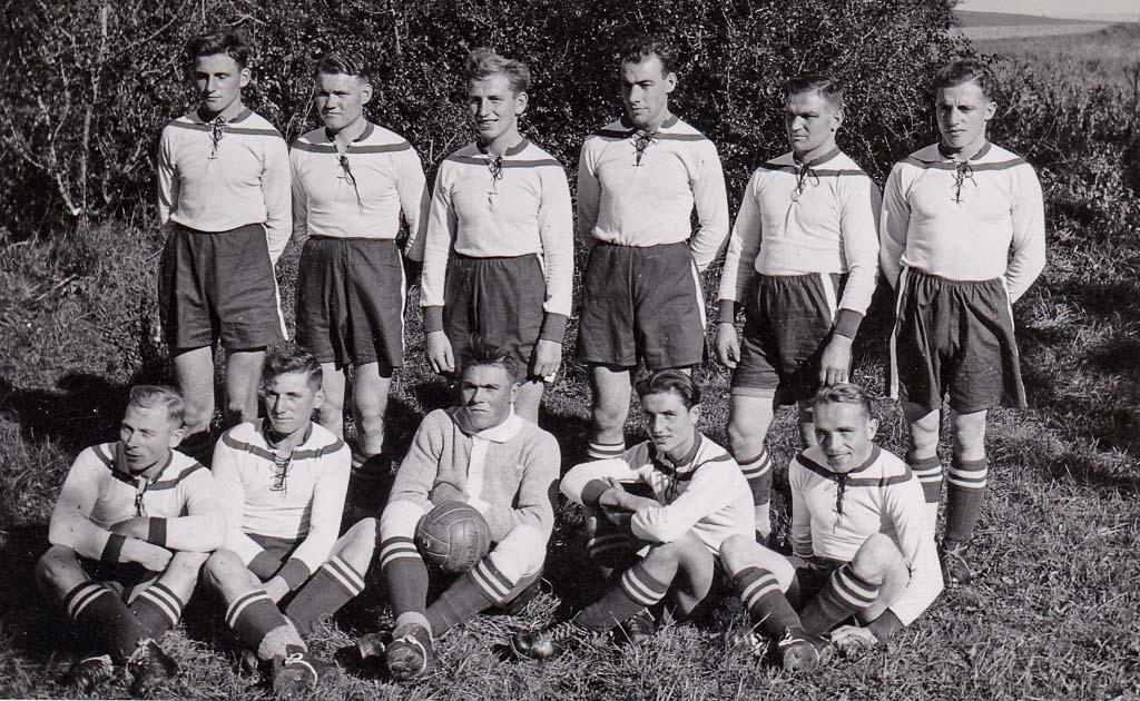 Fußballmannschaft, 1938