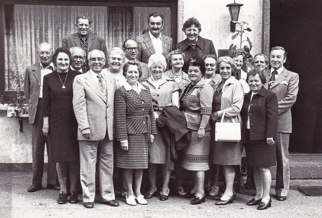 65er-Treffen des Jahrgangs 1910-1912, Oktober 1976