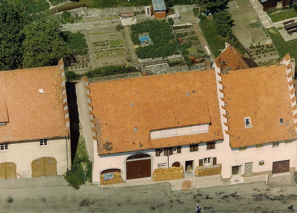 Haus Kienzle und Haus Baumgart in der Alenbergstraße, 1986