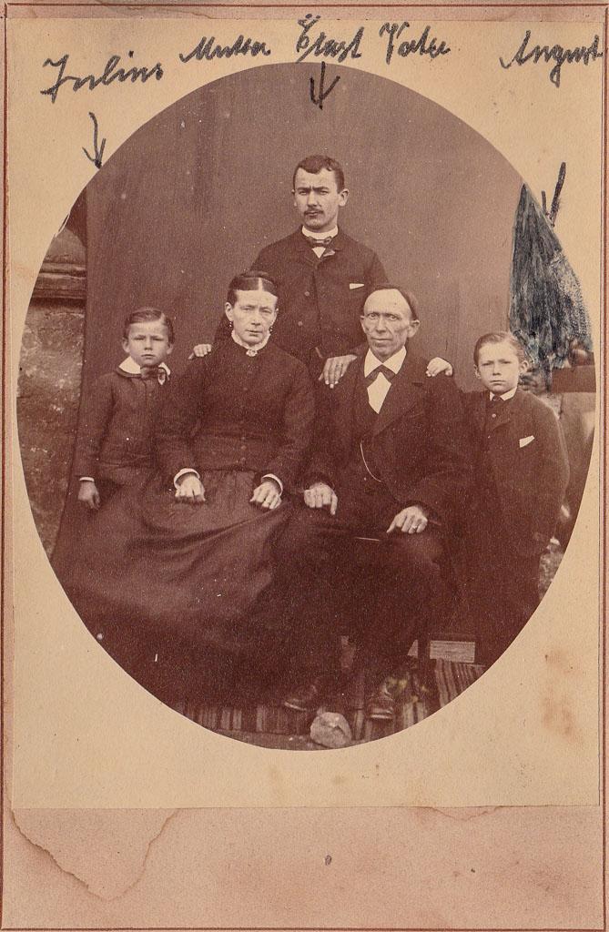 Familie Limb, ca. 1888-1890