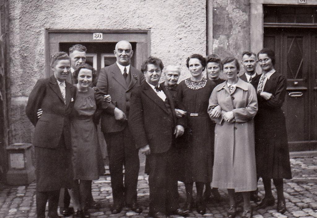 Silberne Hochzeit von Julius und Maria Limb, 1944