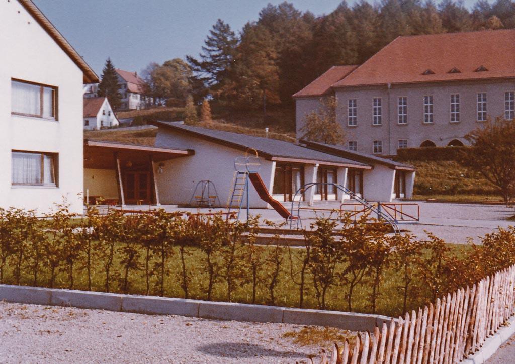 Kindergarten am Schulweg, ca. 1970