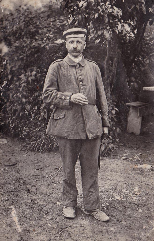 Soldat Franz Schweizer im Ersten Weltkrieg, 1917