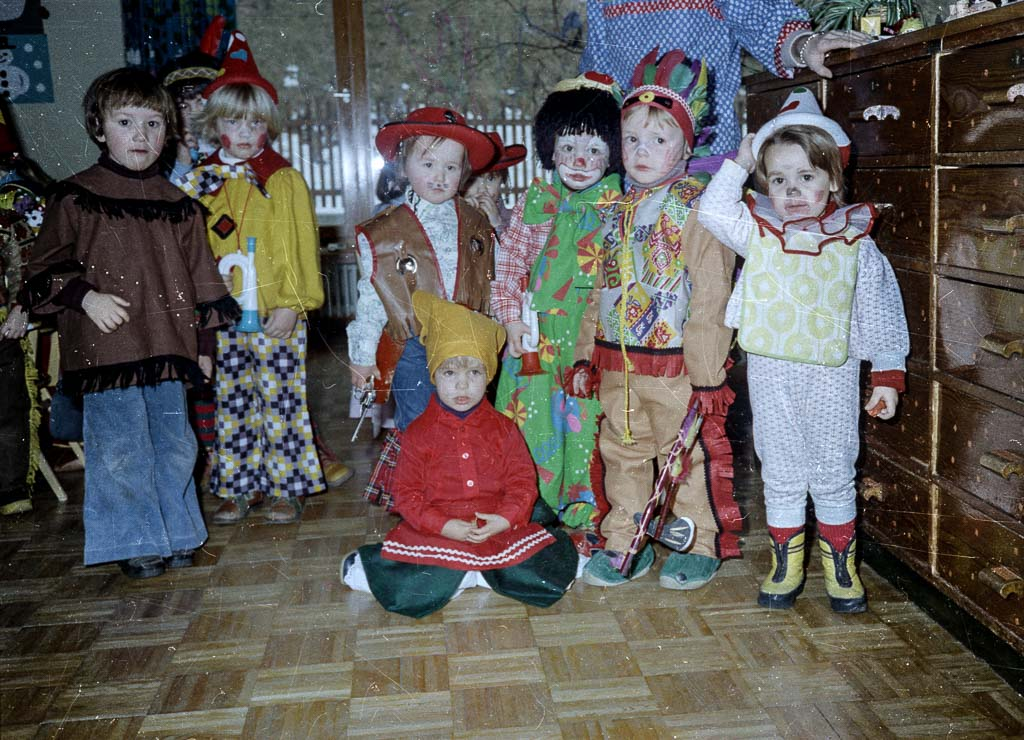 Schmutziger Dunschdig im Kindergarten, 1979