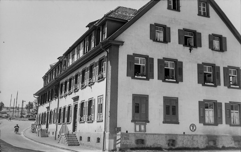 »Alter Benzbau« in der Unteren Hauptstraße, ca. 1955-1960
