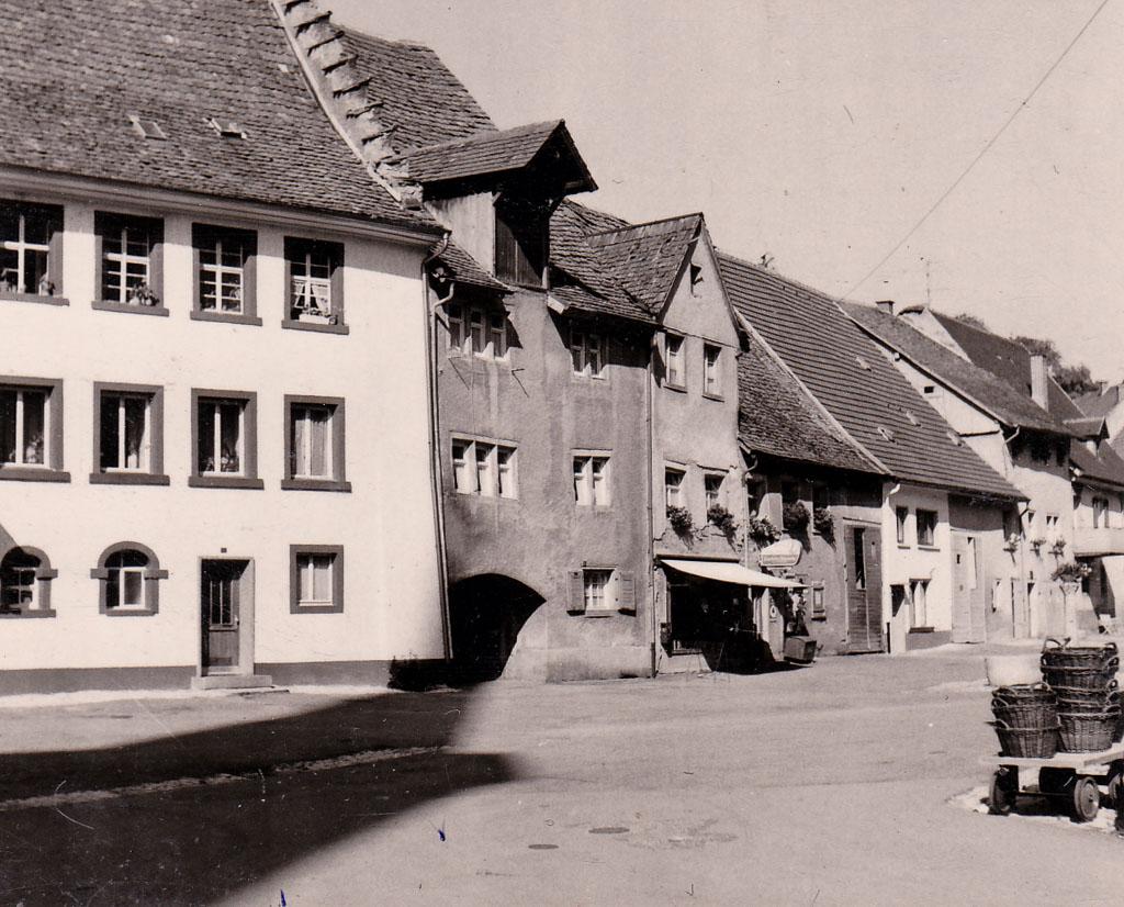 Blick in die Kirchstraße, ca. 1969