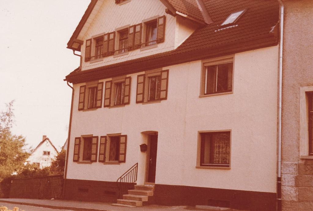 Haus Schweizer in der Seppenhofer Straße, ca. 1980-1990