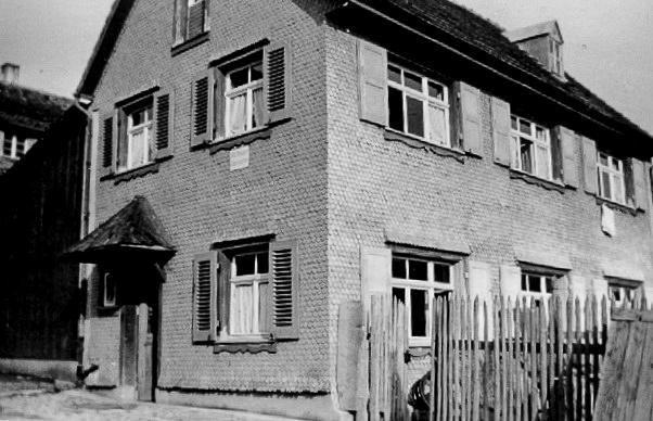 Haus Brugger in der Maienlandstraße, ca. 1950-1960