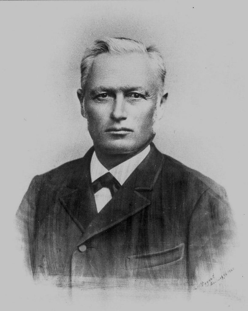 Bürgermeister Karl Kuster, ca. 1920