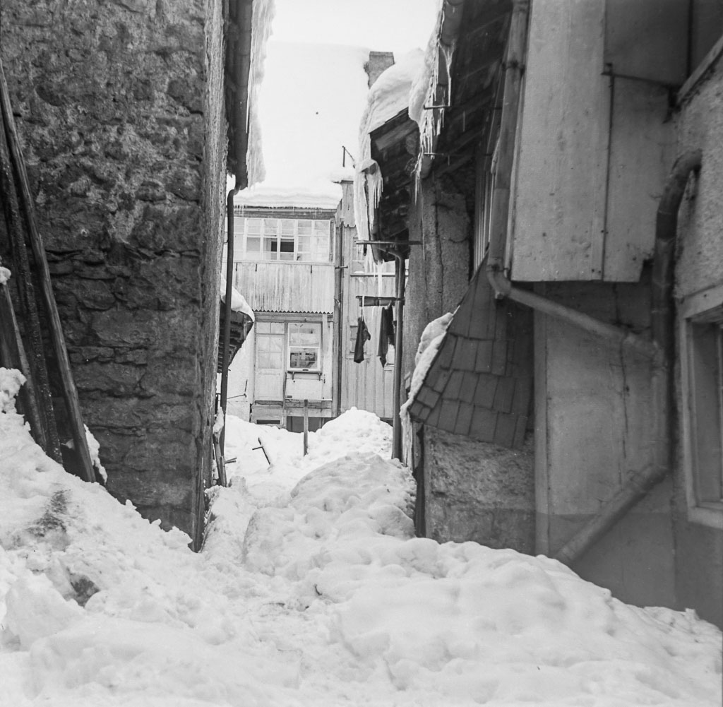 Schneeberge im hintersten Winkel des »Eckeret«, ca. 1960