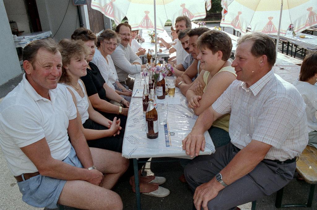 3 Fotos: Maienlandfest im Maienland, 1987