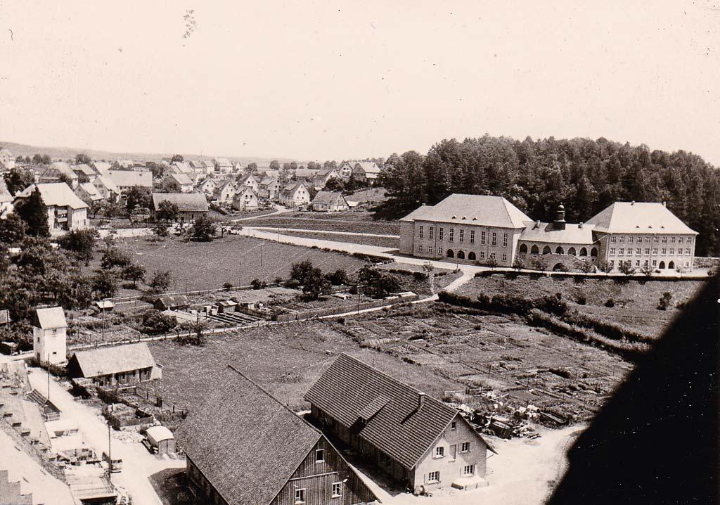 Blick über die »Bittenwiese« zur »Hasle«, 1963