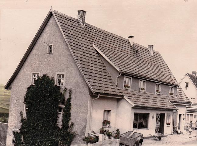 Haus Adrion in der Alenbergstraße, ca. 1970-1975