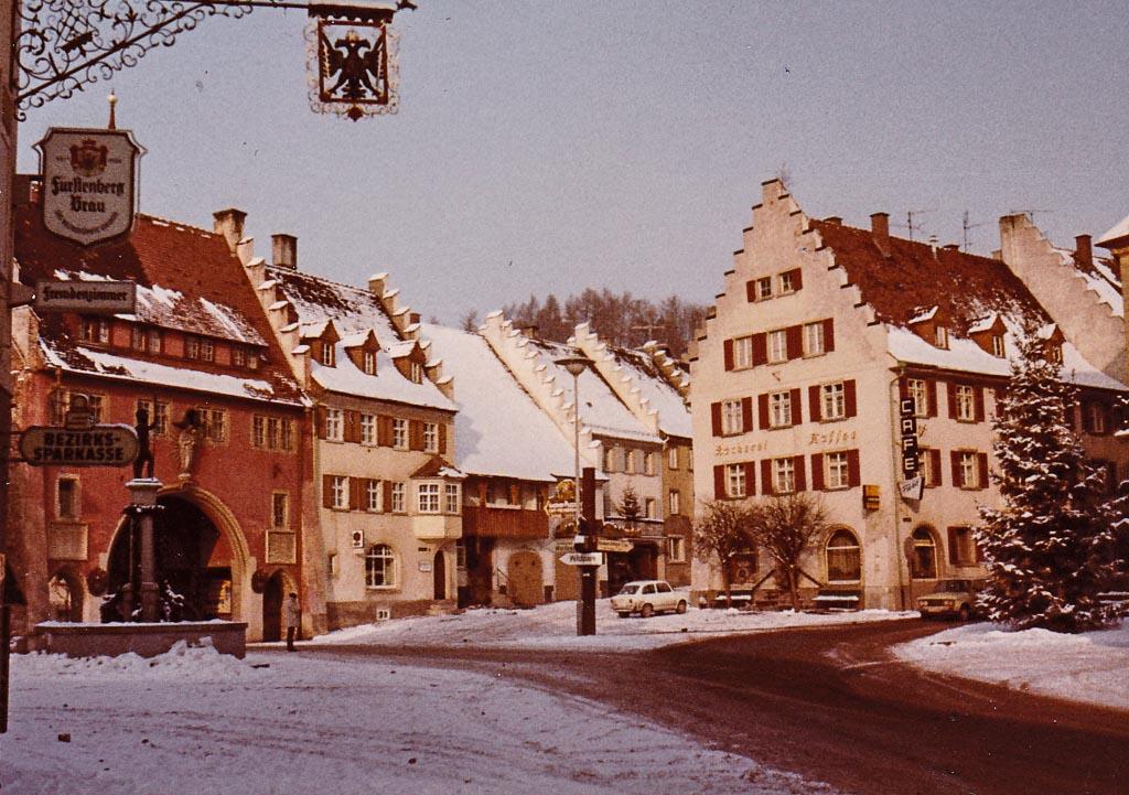 Unterer Rathausplatz, ca. 1970/71