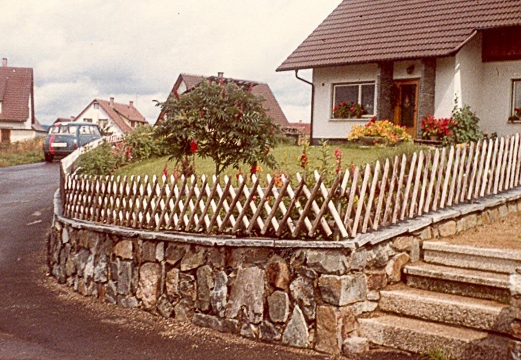 Haus Adrion in der Feldbergstraße, 1968