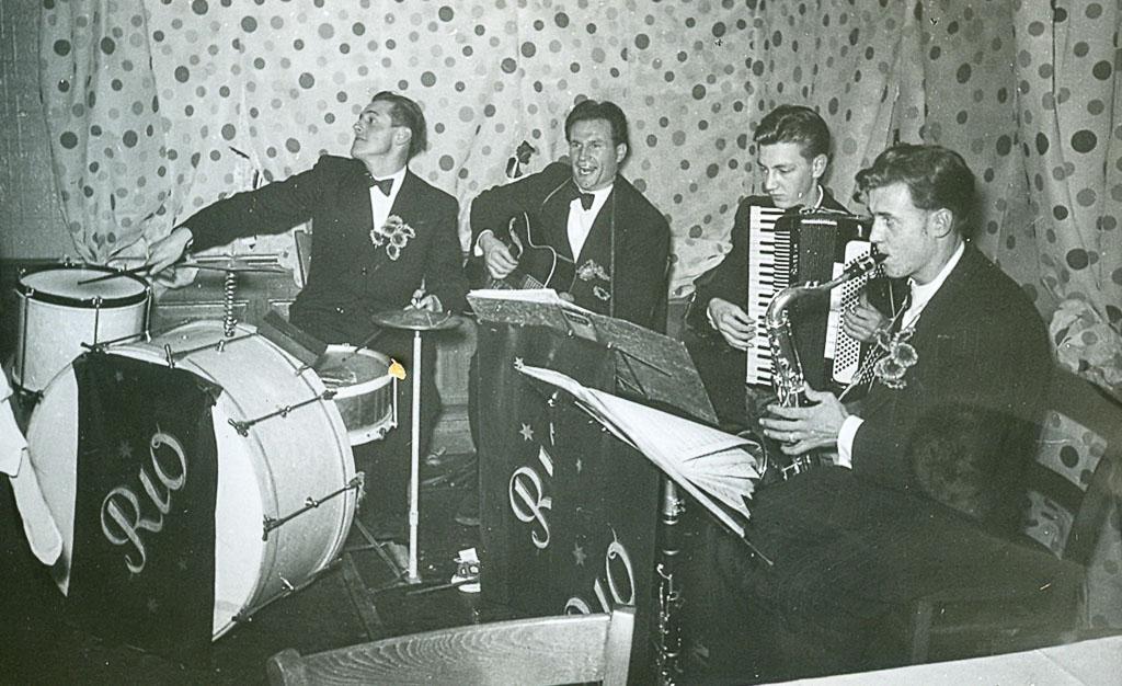 Kapelle »Rio Combo I« im »Ochsen«, ca. 1955