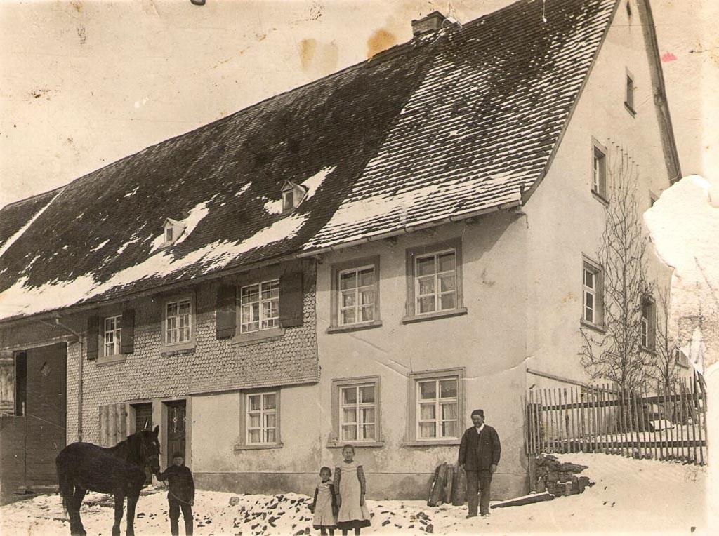 Haus Glunk in der Maienlandstraße, ca. 1913