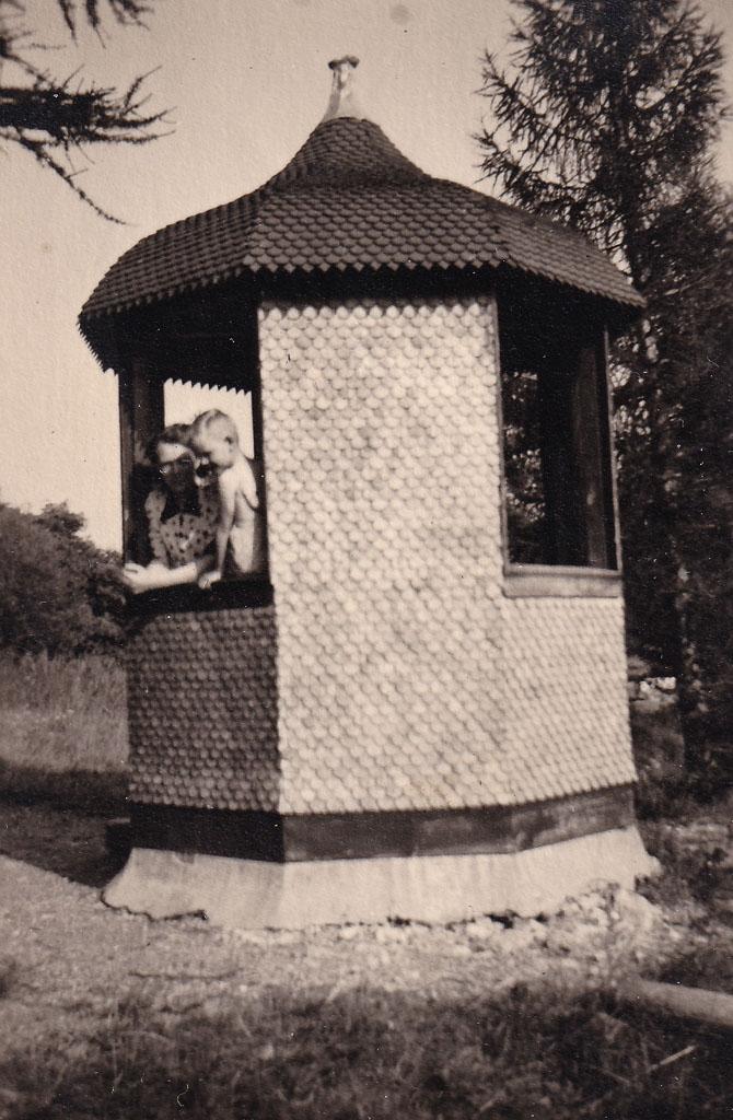 Pavillon auf dem Alenberg, ca. 1945