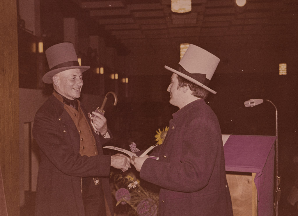 Albert Benitz und Dieter Vierlinger, 1975
