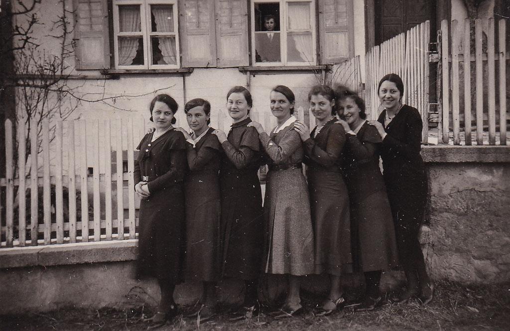 Frauengruppe »Schwere Batterie«, ca. 1930