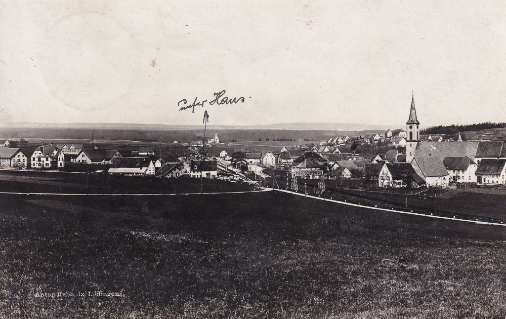 Blick vom »Kleinen Brühl« auf das Städtchen, ca. 1910