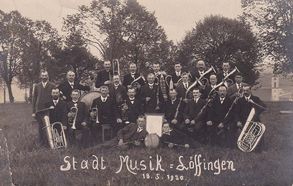 Stadtmusik, 18. Mai 1920
